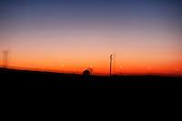 Otranto - tramonto sull'ex cava di bauxite