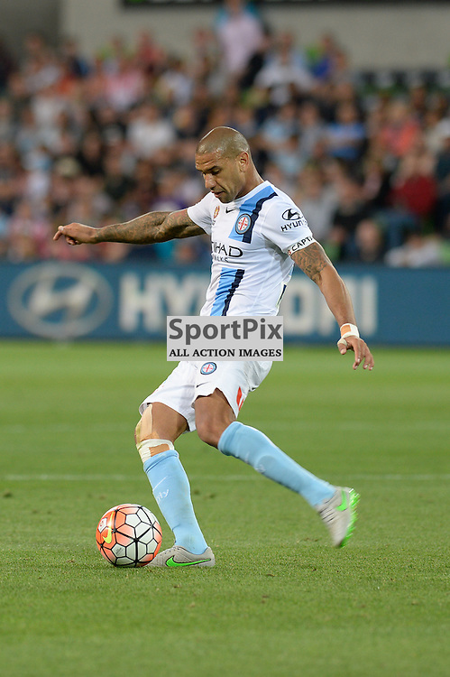 Patrick Kisnorbo of Melbourne City - Hyundai A-League, January 2nd 2016, RD13 match between Melbourne City FC V Sydney FC at Aami Park, Melbourne, Australia in a 2:2 draw. © Mark Avellino | SportPix.org.uk