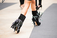 Boots with Sequined Tassels, Outside BCBG