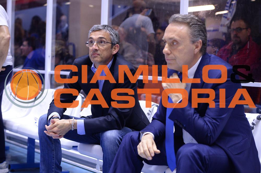 DESCRIZIONE : Brindisi  Lega A 2015-16 Enel Brindisi Pasta Reggia Juve Caserta<br /> GIOCATORE : Fair Play Piero Bucchi<br /> CATEGORIA : Allenatore Coach Before Pregame Fair Play<br /> SQUADRA : Enel Brindisi<br /> EVENTO : Enel Brindisi Pasta Reggia Juve Caserta<br /> GARA :Enel Brindisi  Pasta Reggia Juve Caserta<br /> DATA : 24/04/2016<br /> SPORT : Pallacanestro<br /> AUTORE : Agenzia Ciamillo-Castoria/M.Longo<br /> Galleria : Lega Basket A 2015-2016<br /> Fotonotizia : <br /> Predefinita :