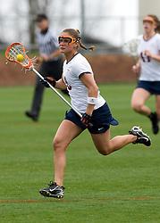 Virginia D Jen Holden (8).  The #4 ranked Virginia Cavaliers women's lacrosse team defeated the Boston College Eagles 12-4 at the University of Virginia's Klockner Stadium in Charlottesville, VA on April 5,2008.