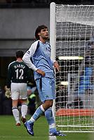 Photo: Paul Thomas.<br /> Manchester City v Newcastle United. The Barclays Premiership. 11/11/2006.<br /> <br /> Man City's Georgios Samaras can't believe he didnt't score.