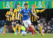 Portsmouth midfielder Danny Hollands during the Sky Bet League 2 match between Portsmouth and Shrewsbury Town at Fratton Park, Portsmouth, England on 28 March 2015.