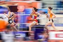 03-03-2017  SRB: European Athletics Championships indoor day 1, Belgrade<br /> In een lege Kombank Arena wordt de eerste dag van het Europees Kampioenschap gehouden / Maureen Koster
