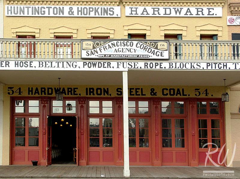 Huntington and Hopkins Hardware Store, Old Sacramento, California