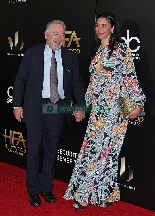 Robert De Niro, Drena De Niro, The 20th Annual Hollywood Film Awards at the Beverly Hilton Hotel (Beverly Hills, CA.)