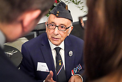 RAF Veteran Ralph Levy at Hidden Heroes, an event celebrating the part played by Jewish volunteers in the Royal Air Force during World War Two, at the RAF Museum in London. The event is part of celebrations to mark the centenary of the RAF. Photo date: Thursday, November 15, 2018. Photo credit should read: Richard Gray/EMPICS