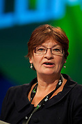 Christine Blower, NUT, speaking at the TUC Conference 2009...© Martin Jenkinson, tel 0114 258 6808 mobile 07831 189363 email martin@pressphotos.co.uk. Copyright Designs & Patents Act 1988, moral rights asserted credit required. No part of this photo to be stored, reproduced, manipulated or transmitted to third parties by any means without prior written permission
