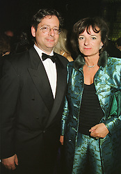 The HON.DOMINIC & the HON.MRS LAWSON she was a close friend of the late Diana, Princess of Wales, at a ball in London on 12th March 1999.MPH 25