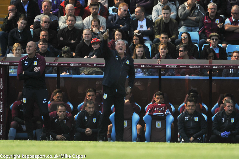 STEVE BRUCE MANAGER  ASTON VILLA, Aston Villa v Brighton &amp; Hove Albion Sky Bet Championship Villa Park, Brighton Promoted to Premiership Sunday 7th May 2017 Score 1-1 <br /> Photo:Mike Capps
