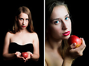 Tereza Franiokova in photo session with photographer Carlos Lopez