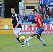 Dundee's Nick Ross and Wigan's Tim Chow - Dundee v Wigan Athletic - pre season friendly at Dens Park<br /> <br />  - &copy; David Young - www.davidyoungphoto.co.uk - email: davidyoungphoto@gmail.com
