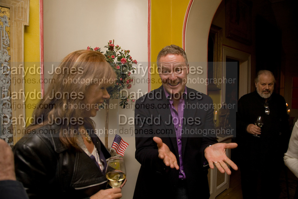 NETTIE MASON; RORY BREMNER, Book launch for American's in Paris by Charles Glass hosted by Lady Annabel Lindsay. Holland Park. London. 25 March 2009 *** Local Caption *** -DO NOT ARCHIVE-© Copyright Photograph by Dafydd Jones. 248 Clapham Rd. London SW9 0PZ. Tel 0207 820 0771. www.dafjones.com.<br /> NETTIE MASON; RORY BREMNER, Book launch for American's in Paris by Charles Glass hosted by Lady Annabel Lindsay. Holland Park. London. 25 March 2009