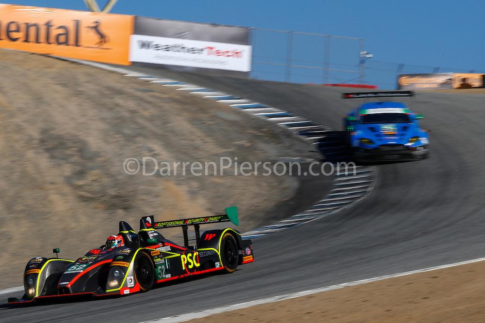#52 PR1/Mathiasen Motorsports ORECA FLM09: Robert Alon, Tom Kimber-Smith