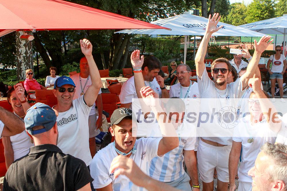 "We are the Champions, European Maccabi Games, LTTC ""Rot-Weiß"", Berlin, 03.08.2015, Foto: Claudio Gaertner"