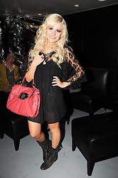 PIXIE LOTT at a party to celebrate the launch of Bang a new male fragrance by Marc Jacobs held at the Fith Floor Restaurant, Harvey Nichols, Knightsbridge, London on 22nd July 2010.