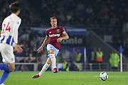 West Ham United midfielder Mark Noble (16) during the Premier League match between Brighton and Hove Albion and West Ham United at the American Express Community Stadium, Brighton and Hove, England on 5 October 2018.