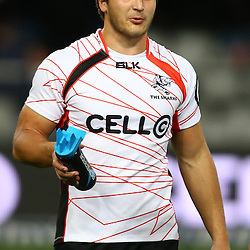DURBAN, SOUTH AFRICA, 9,JULY, 2016 Andre Esterhuizen of the Cell C Sharks during The Cell C Sharks vs Toyota Cheetahs  Super Rugby Match at Growthpoint Kings Park in Durban, South Africa. (Photo by Steve Haag)<br /> <br /> images for social media must have consent from Steve Haag