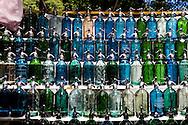 syphoon water bottle sunday market . Dorrego square, SAN TELMO historical area  Buenos Aires - Argentina  .///.syphons, bouteille eau soda, marche du dimanche . place Dorrego , quartier historique SAN TELMO  Buenos Aires - Argentine .///.BUAIR022