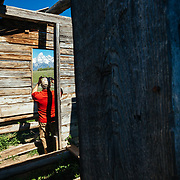 Matthew Bart explores the Shane Cabins Homestead in Grand Teton National Park, Wyoming.