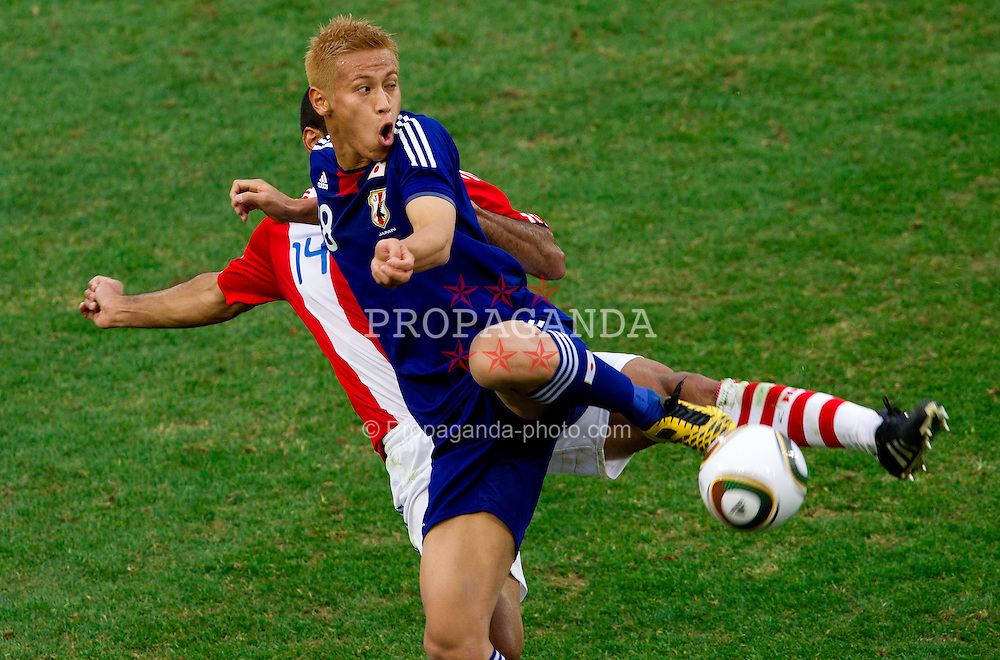 29.06.2010, Loftus Versfeld Stadium, Pretoria, RSA, FIFA WM 2010, Paraguay (PAR) vs Japan (JPN), im Bild Keisuke Honda of Japan . EXPA Pictures © 2010, PhotoCredit: EXPA/ Sportida/ Vid Ponikvar +++ Slovenia OUT +++