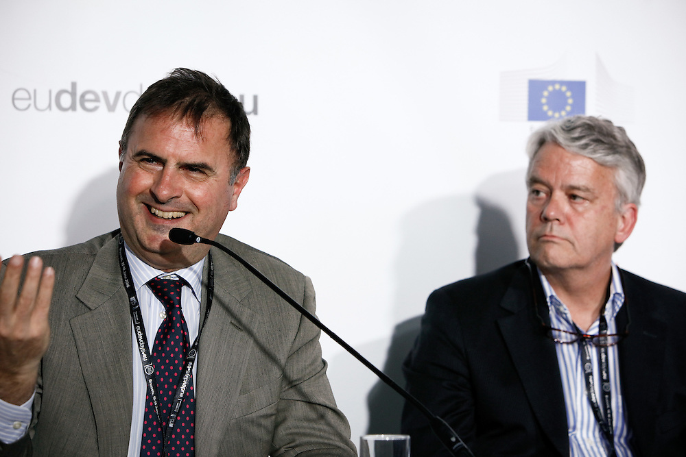 20160616 - Brussels , Belgium - 2016 June 16th - European Development Days - Shared responsibility for global value chains - Bernardo Scammacca , Director of Supplier Performance , Chairman of the JAC Operational Committee , Orange © European Union