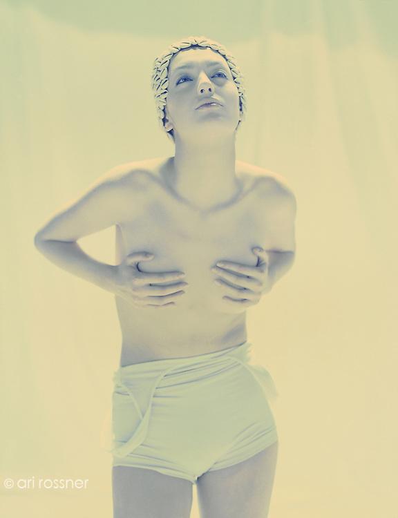Model: Marcela Danielova<br /> Stylist: Elisabeth Haury