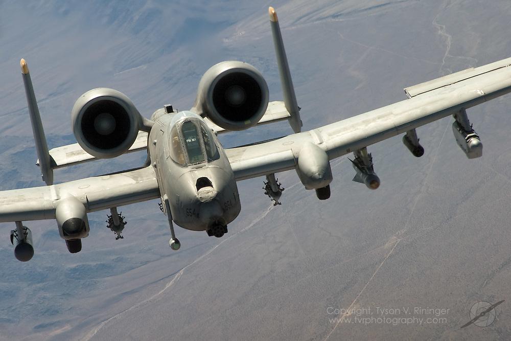 A-10C AF 82-0654 incorrectly designated AF 81-0654