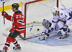 March 29, 2012: Tampa Bay Lightning at New Jersey Devils