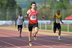 03/08/2017; Pototschnig, Alexander, T47, AUT, Thomas, Tevaughn Kevin, T46, JAM at 2017 World Para Athletics Junior Championships, Nottwil, Switzerland