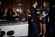 OLIVIA INGE; CHARLIE GILKES, The Tatler Little Black Book party. Tramp. 40 Jermyn St. London SW1 *** Local Caption *** -DO NOT ARCHIVE-© Copyright Photograph by Dafydd Jones. 248 Clapham Rd. London SW9 0PZ. Tel 0207 820 0771. www.dafjones.com.