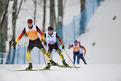 BREM Wilhelm Guide: GRIMM Florian, Biathlon at the 2014 Sochi Winter Paralympic Games, Russia