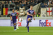 Anderlecht Midfielder Leander Dendoncker during the UEFA Europa League Quarter-final, Game 1 match between Anderlecht and Manchester United at Constant Vanden Stock Stadium, Anderlecht, Belgium on 13 April 2017. Photo by Phil Duncan.
