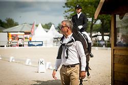 Helgstrand Andreas, DEN, Revolution<br /> Ermelo - Weltmeisterschaft Junge Dressurpferde 2019<br /> Finale für 6 jährige Dressurpferde<br /> Final for 6 years dressage horses<br /> 04. August 2019<br /> © www.sportfotos-lafrentz.de/Dirk Caremans