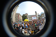GIRO AL SAS KINDS, Trento Piazza Duomo 1 ottobre 2016 © foto Daniele Mosna