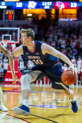 NORMAL, IL - November 06:  Caleb Hollander during a college basketball game between the ISU Redbirds and the Belmont Bruins on November 06 2019 at Redbird Arena in Normal, IL. (Photo by Alan Look)