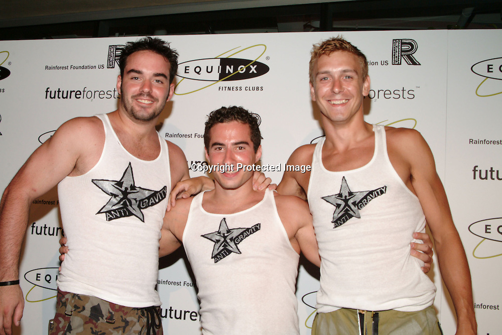 Bodybuilders<br />ROCK THE FOREST With EQUINOX<br />Benefiting The Rainforest Foundation<br />Equinox Fitness Clubs<br />West Hollywood, CA, USA<br />Wednesday, September 10, 2003 <br />Photo By Celebrityvibe.com/Photovibe.com