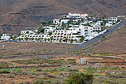 Holiday villas property housing development,  Pozo Negro, Fuerteventura, Canary Islands, Spain