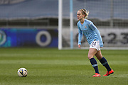 Manchester City Women's midfielder Keira Walsh (24) during the FA Women's Super League match between Manchester City Women and Brighton and Hove Albion Women at the Sport City Academy Stadium, Manchester, United Kingdom on 27 January 2019.