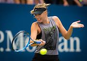 Maria Sharapova of Russia practices at the 2018 US Open Grand Slam tennis tournament, New York, USA, August 26th 2018, Photo Rob Prange / SpainProSportsImages / DPPI / ProSportsImages / DPPI