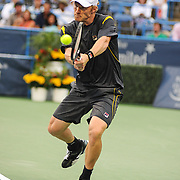Washington DC - August 3rd, 2013 - Dmitry Tursunov at the 2013 CitiOpen Tennis Tournament in Washington, D.C.