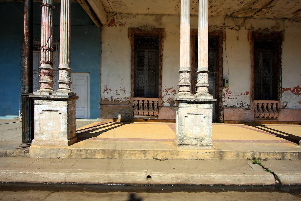 Building in Cruces, Cienfuegos Province, Cuba.