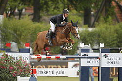 Will, David, Mic Mac du Tillard<br /> Hamburg - Hamburger Derby 2015<br /> Baker Tilly Roelfs Trophy<br /> © www.sportfotos-lafrentz.de/Stefan Lafrentz
