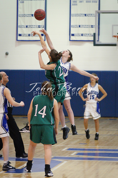 MCHS Varsity Girls Basketball .vs William Monroe .12/5/2008