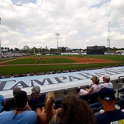 March 8, 2011; Port Charlotte, FL, USA; A general view during a spring training exhibition game between the Toronto Blue Jays and the Tampa Bay Rays at Charlotte Sports Park.   Mandatory Credit: Derick E. Hingle