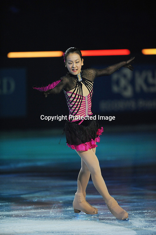 Mao Asada (JPN), OCTOBER 18, 2009 - Figure Skating : during ISU Grand Prix of Figure Skating 2009/2010 Trophee Eric Bompard 2009 Exhibition at Palais Omnisport de Paris Bercy, Paris, France. (Photo by Atsushi Tomura/AFLO SPORT) [1035]