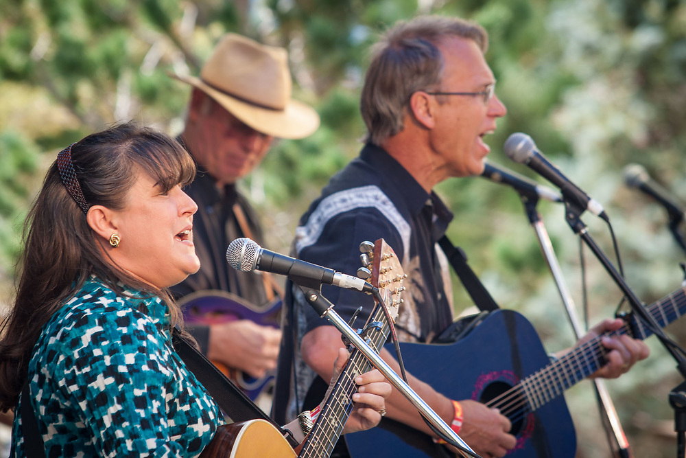 High Peaks Music Festival, a KMWV community radio fundraiser in Westcliffe's Feedstore Park and Amphitheater.