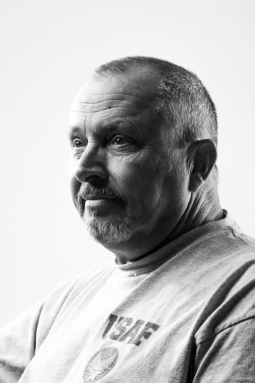 James P. Ashby<br /> Air Force<br /> E-7<br /> Combat Photographer<br /> Vietnam<br /> June 1967 - Oct. 1987<br /> <br /> Veterans Portrait Project<br /> El Paso, TX