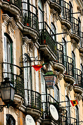 PORTUGAL LISBON 6OCT06 - Facade of an old house at the bottom of the Alfama district, Lisbon.. . jre/Photo by Jiri Rezac. . © Jiri Rezac 2006. . Contact: +44 (0) 7050 110 417. Mobile:  +44 (0) 7801 337 683. Office:  +44 (0) 20 8968 9635. . Email:   jiri@jirirezac.com. Web:    www.jirirezac.com. . © All images Jiri Rezac 2006 - All rights reserved.