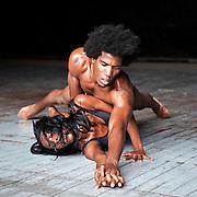 Danza del Caribe, one of the most prestigious dance companies in Cuba, rehearsal at Teatro Heredia, Avenida de Las Americas, on December 10, 2010, in Santiago de Cuba, Cuba.
